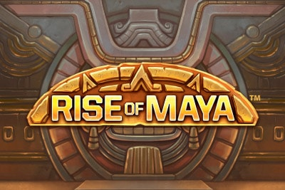 Rise of Maya Mobile Slot Logo