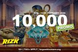 Win A Share of 10K Real Money At Rizk Mobile Casino
