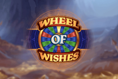 Wheel of Wishes Mobile Slot Logo