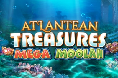 Atlantean Treasures Mobile Slot Logo