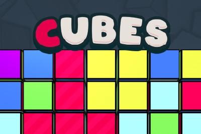 Cubes Mobile Slot Logo