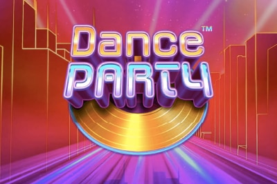 Dance Party Mobile Slot Logo