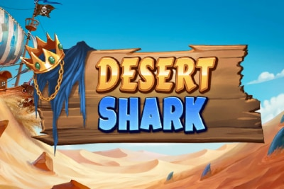 Desert Shark Mobile Slot Logo