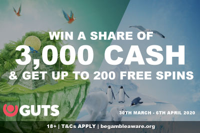 GUTS Casino Free Spins & Cash Expedition Promo Part 2