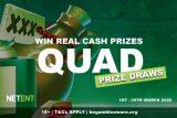 NetEnt Casinos Cash Prize Draws