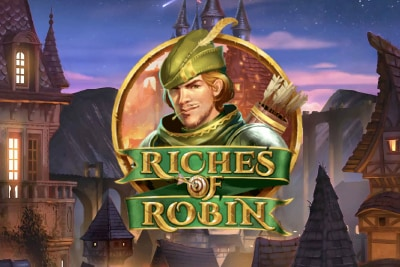 Riches of Robin Mobile Slot Logo