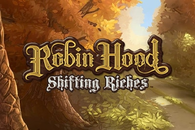 Robin Hood Shifting Riches Mobile Slot Logo