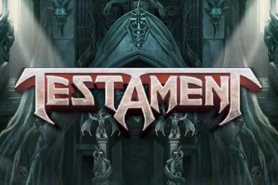 Testament Mobile Slot Logo