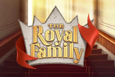 The Royal Family Mobile Slot Logo