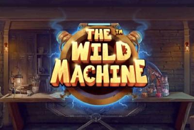 The Wild Machine Mobile Slot Logo