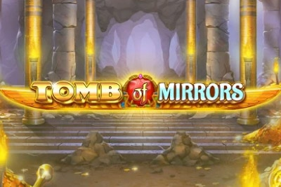 Tomb of Mirrors Mobile Slot Logo