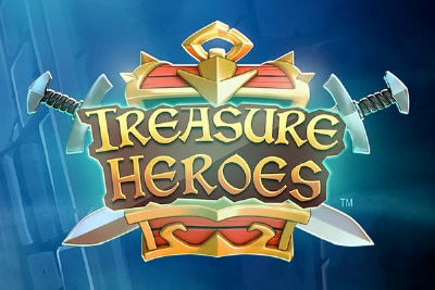 Treasure Heroes Mobile Slot Logo