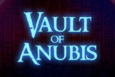 Vault of Anubis Mobile Slot Logo