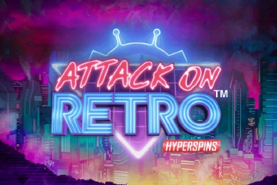 Attack on Retro Mobile Slot Logo