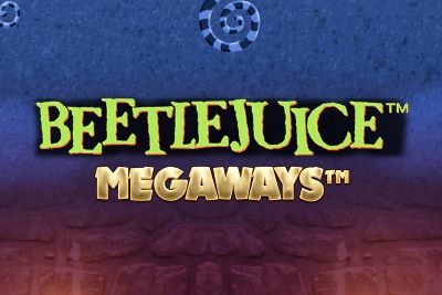 Beetlejuice Megaways Mobile Slot Logo