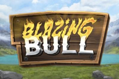 Blazing Bull Mobile Slot Logo