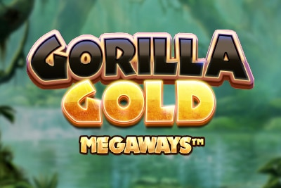 Gorilla Gold Megaways Mobile Slot Logo