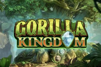 Gorilla Kingdom Mobile Slot Logo