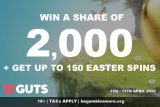 GUTS Casino Easter Free Spins & Real Cash Prizes