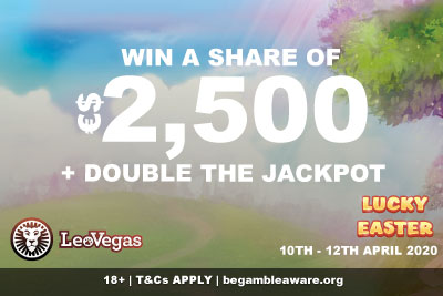Win Your Share of €$2,500 At LeoVegas Mobile Casino