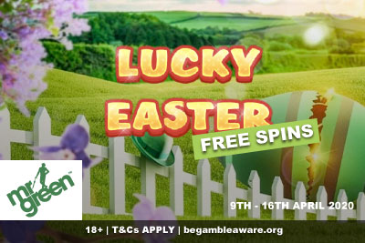 Get Your Lucky Easter Free Spins At Mr Green