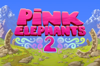 Pink Elephants 2 Mobile Slot Logo