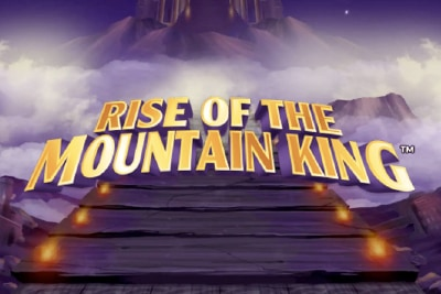 Rise of The Mountain King Mobile Slot Logo