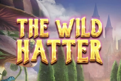 The Wild Hatter Mobile Slot Logo