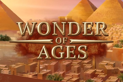 Wonder of Ages Mobile Slot Logo