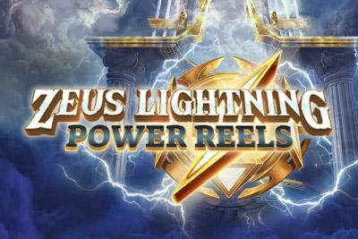 Zeus Lightning Power Reels Mobile Slot Logo