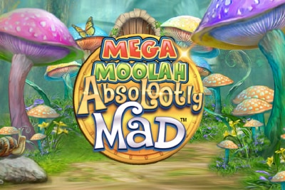 Mega Moolah Absolootly Mad Mobile Slot Logo