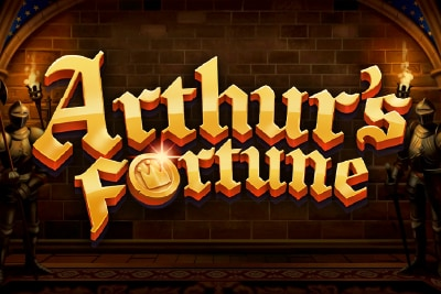 Arthurs Fortune Mobile Slot Logo