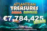 Atlantean Treasures Slot Big Jackpot Win