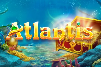 Atlantis Mobile Slot Logo