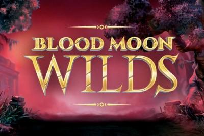Blood Moon Wilds Mobile Slot Logo