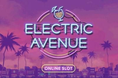 Electric Avenue Mobile Slot Logo