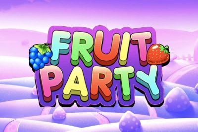Fruit Party Mobile Slot Logo