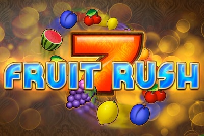 Fruit Rush Mobile Slot Logo