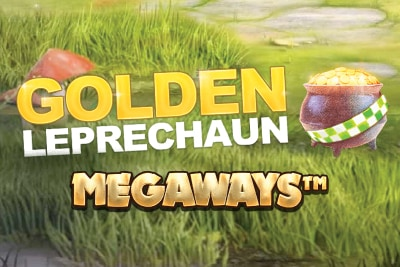 Golden Leprechaun Megaways Mobile Slot Logo