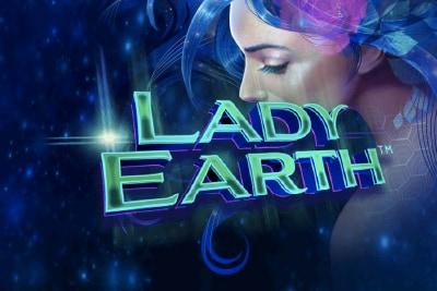 Lady Earth Mobile Slot Logo