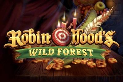 Robin Hoods Wild Forest Mobile Slot Logo