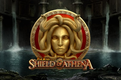 Rich Wilde & The Shield of Arena Mobile Slot Logo