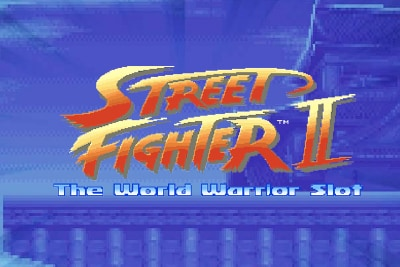 Street Fighter 2 Mobile Slot Logo