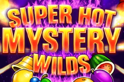 Super Hot Mystery Wilds Mobile Slot Logo