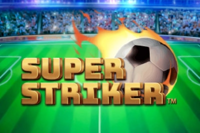 Super Striker Mobile Slot Logo