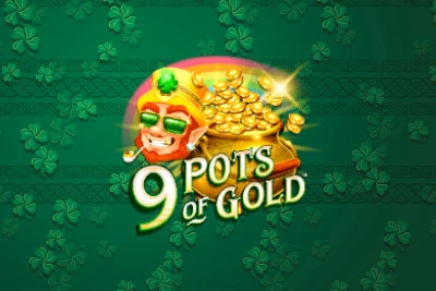 9 Pots of Gold Mobile Slot Logo