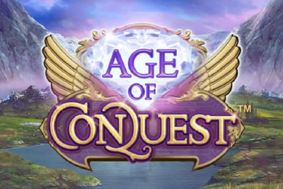Age of Conquest Mobile Slot Logo