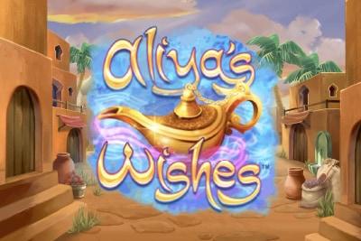 Aliyas Wishes Mobile Slot Logo