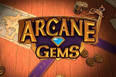 Arcane Gems Mobile Slot Logo