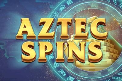 Aztec Spins Mobile Slot Logo